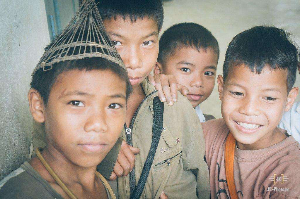 Portrait - Enfants du Laos