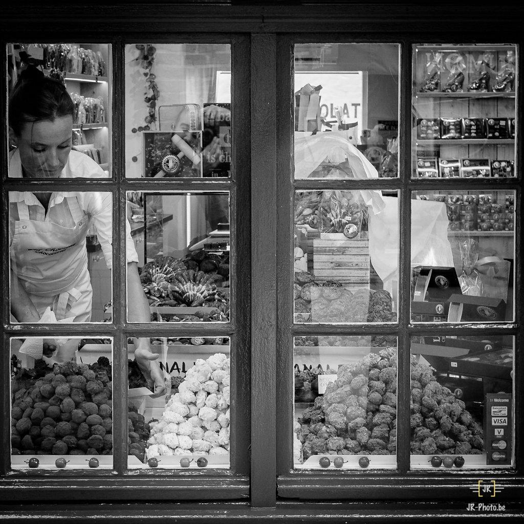 Photo de rue - Mme Chocolat