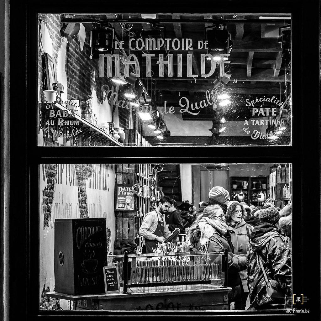 Photo de rue -  Le Comptoir de Mathilde - Bruxelles